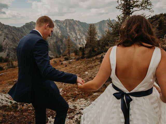 Amanda and Bruce's wedding in Kimberley, British Columbia 10