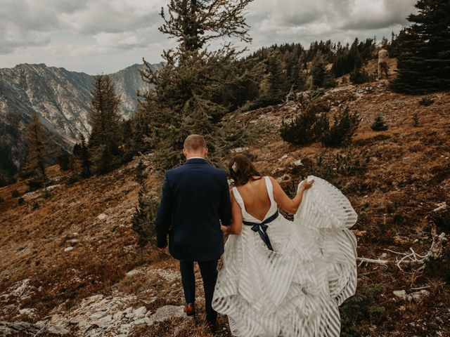 Amanda and Bruce's wedding in Kimberley, British Columbia 11