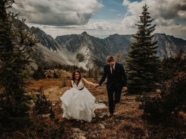Amanda and Bruce's wedding in Kimberley, British Columbia 13