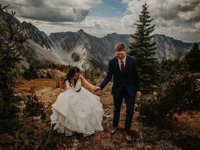 Amanda and Bruce's wedding in Kimberley, British Columbia 14