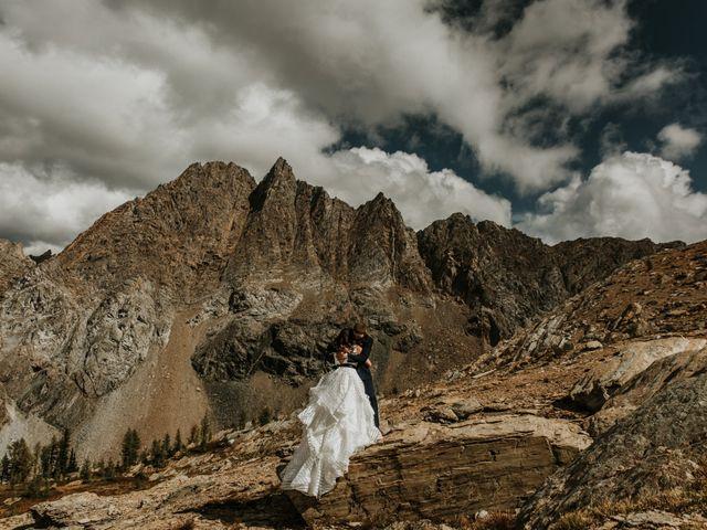 Amanda and Bruce's wedding in Kimberley, British Columbia 17