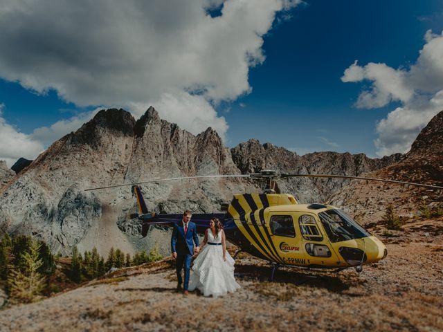 Amanda and Bruce's wedding in Kimberley, British Columbia 18