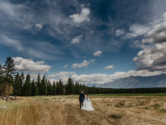 Amanda and Bruce's wedding in Kimberley, British Columbia 26