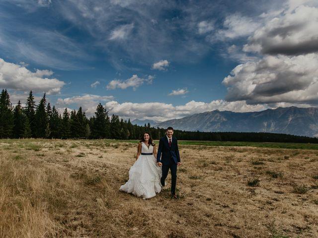 Amanda and Bruce's wedding in Kimberley, British Columbia 27