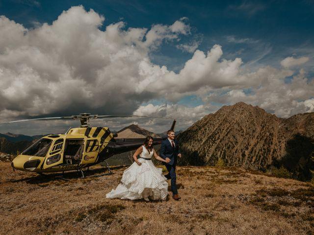 Amanda and Bruce's wedding in Kimberley, British Columbia 28