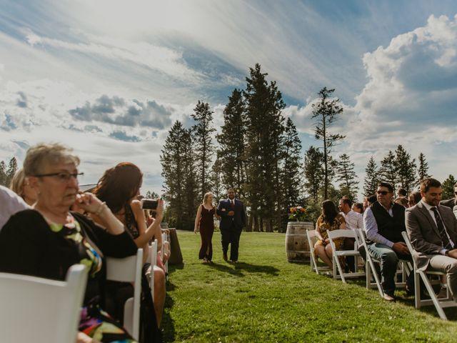 Amanda and Bruce's wedding in Kimberley, British Columbia 48