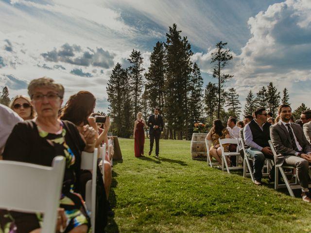 Amanda and Bruce's wedding in Kimberley, British Columbia 49