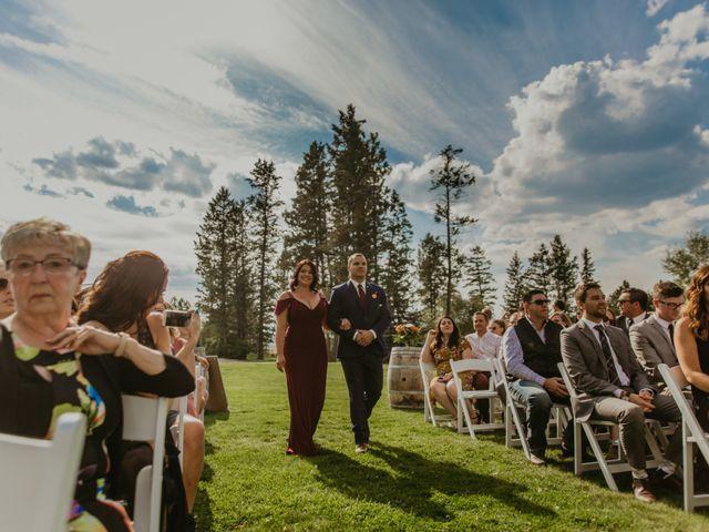 Amanda and Bruce's wedding in Kimberley, British Columbia 50