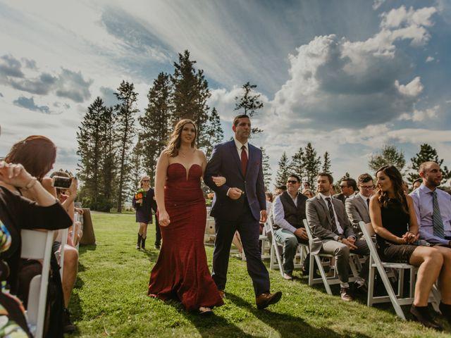 Amanda and Bruce's wedding in Kimberley, British Columbia 51