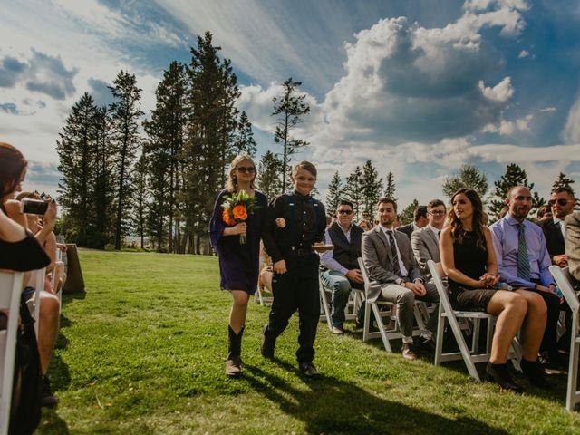 Amanda and Bruce's wedding in Kimberley, British Columbia 52