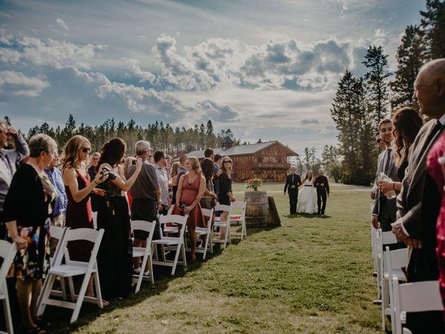 Amanda and Bruce's wedding in Kimberley, British Columbia 54