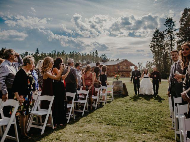 Amanda and Bruce's wedding in Kimberley, British Columbia 55