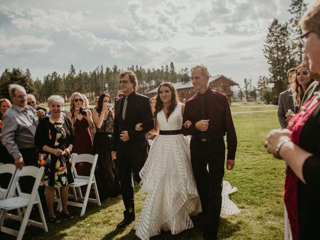 Amanda and Bruce's wedding in Kimberley, British Columbia 57