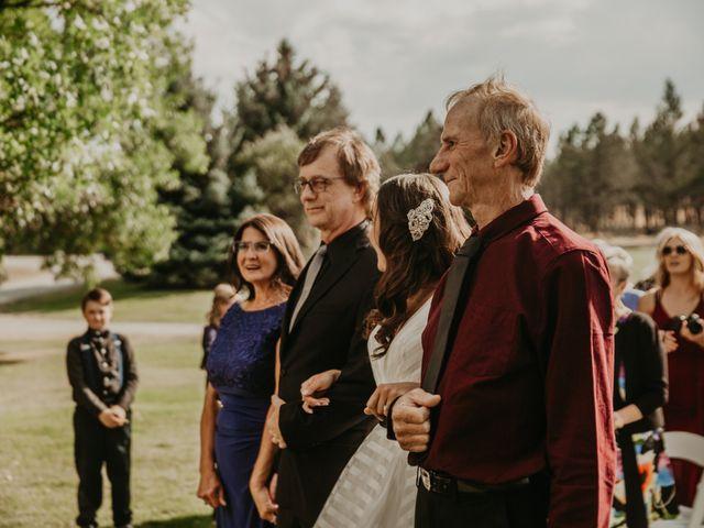 Amanda and Bruce's wedding in Kimberley, British Columbia 58