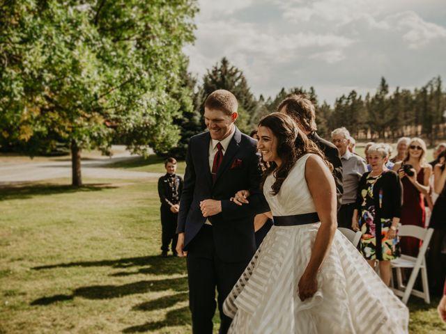 Amanda and Bruce's wedding in Kimberley, British Columbia 62