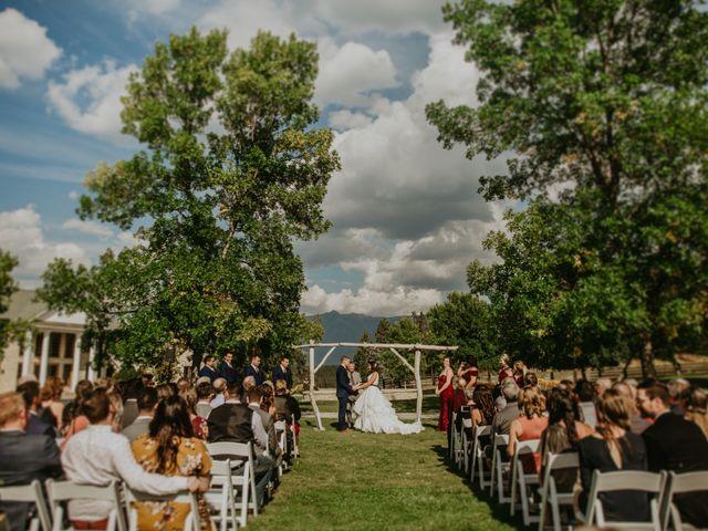 Amanda and Bruce's wedding in Kimberley, British Columbia 63