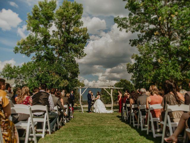 Amanda and Bruce's wedding in Kimberley, British Columbia 64