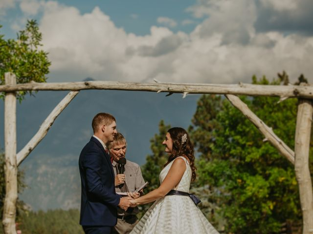 Amanda and Bruce's wedding in Kimberley, British Columbia 66