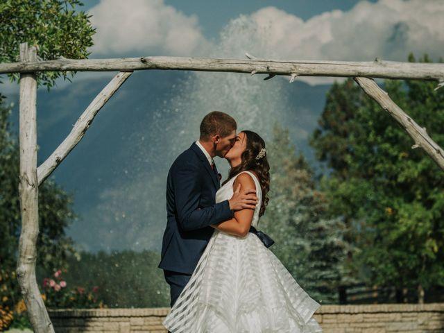 Amanda and Bruce's wedding in Kimberley, British Columbia 74
