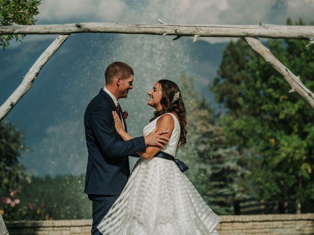 Amanda and Bruce's wedding in Kimberley, British Columbia 75