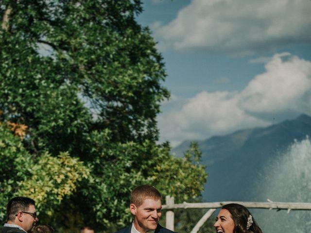 Amanda and Bruce's wedding in Kimberley, British Columbia 77