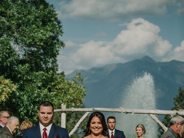 Amanda and Bruce's wedding in Kimberley, British Columbia 78