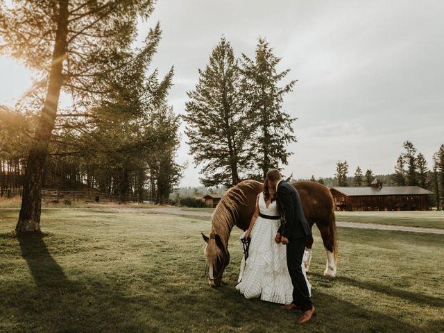 Amanda and Bruce's wedding in Kimberley, British Columbia 84