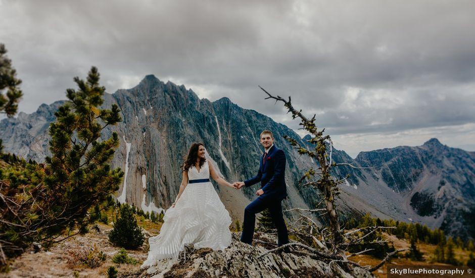 Amanda and Bruce's wedding in Kimberley, British Columbia