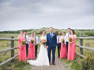 Ben and Ashley's wedding in Cochrane, Alberta 32