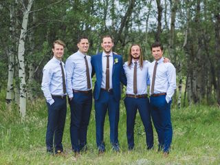 Ben and Ashley's wedding in Cochrane, Alberta 39