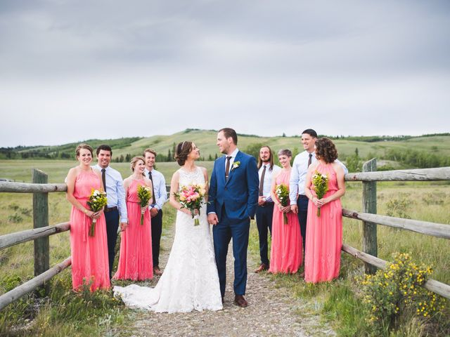 Ben and Ashley's wedding in Cochrane, Alberta 2