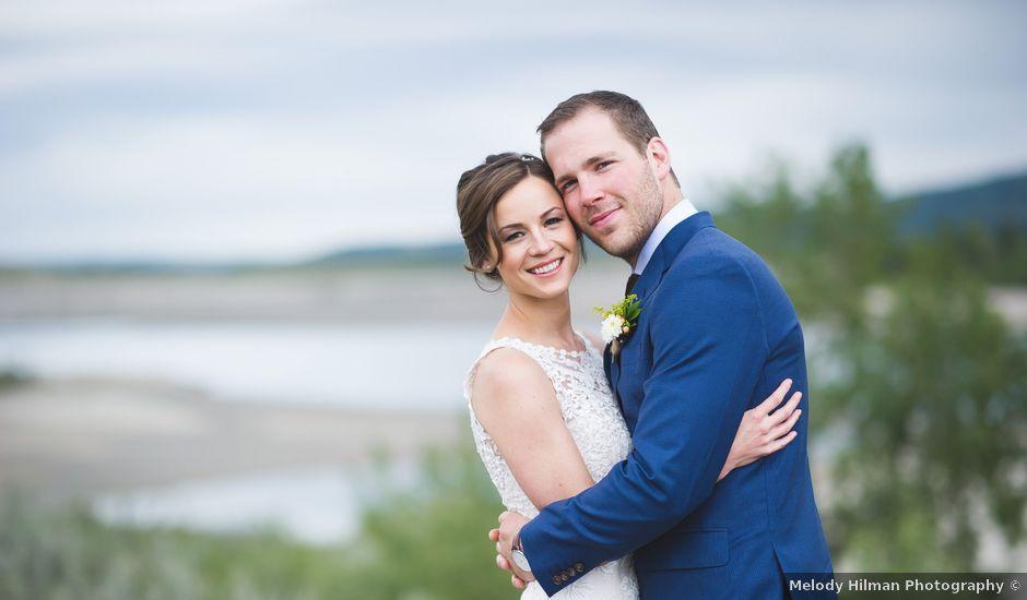 Ben and Ashley's wedding in Cochrane, Alberta