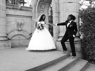 The wedding of Shelamaze and Kennesha