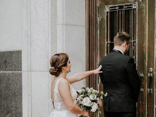 The wedding of Lauren and Jason
