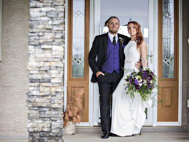 Travis and Jessica's wedding in Regina, Saskatchewan 16