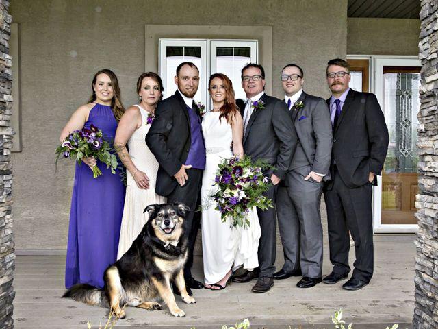 Travis and Jessica's wedding in Regina, Saskatchewan 22