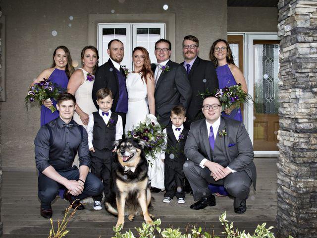 Travis and Jessica's wedding in Regina, Saskatchewan 23