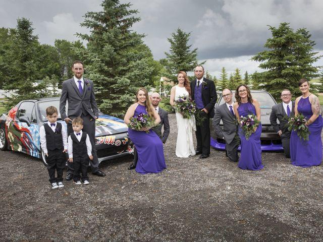 Travis and Jessica's wedding in Regina, Saskatchewan 31