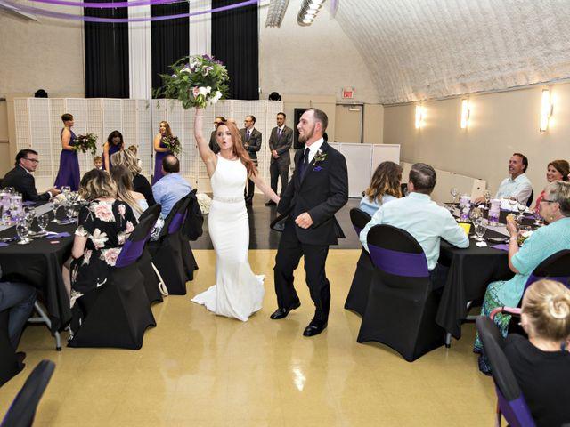 Travis and Jessica's wedding in Regina, Saskatchewan 40