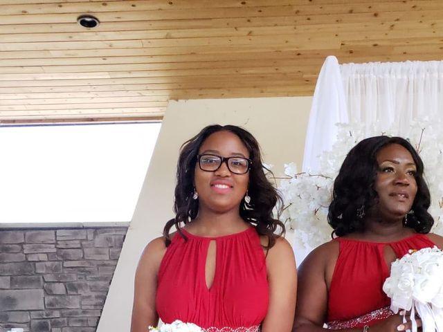 Kennesha and Shelamaze's wedding in Scarborough, Ontario 4