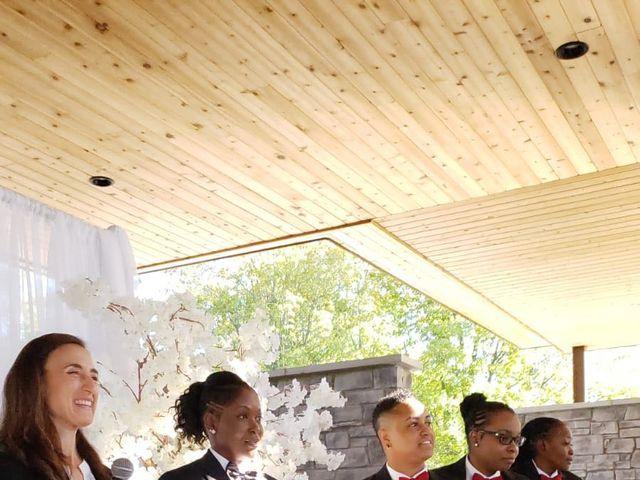 Kennesha and Shelamaze's wedding in Scarborough, Ontario 5