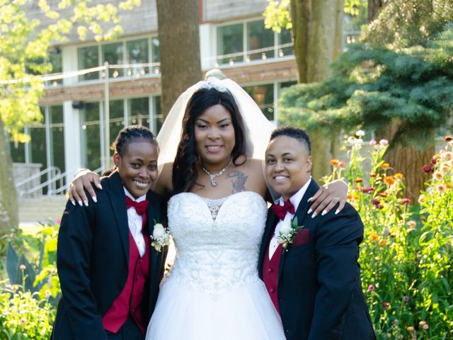 Kennesha and Shelamaze's wedding in Scarborough, Ontario 6