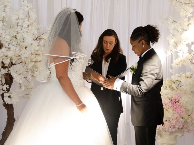 Kennesha and Shelamaze's wedding in Scarborough, Ontario 7