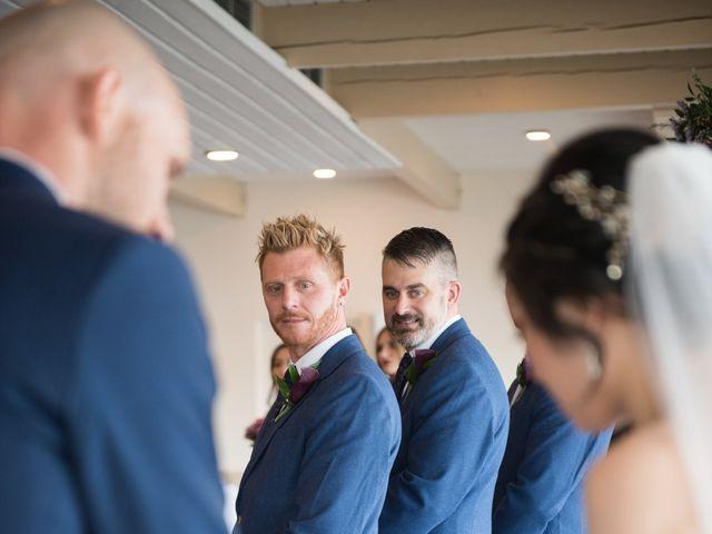 Josh and Jamia's wedding in Burnaby, British Columbia 24