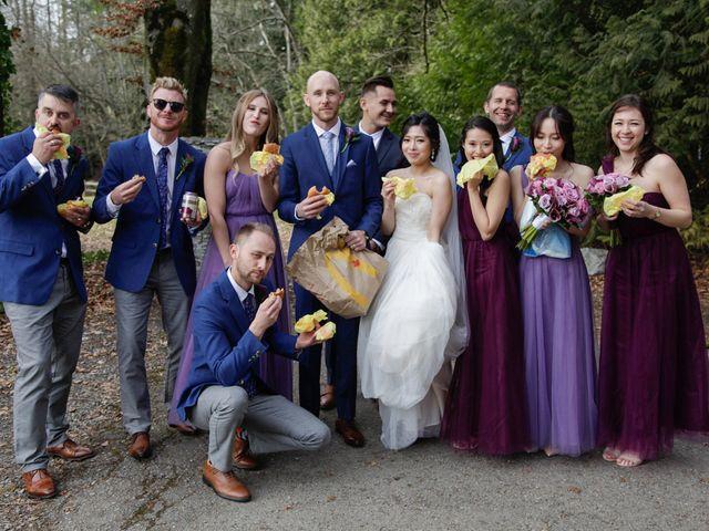 Josh and Jamia's wedding in Burnaby, British Columbia 43