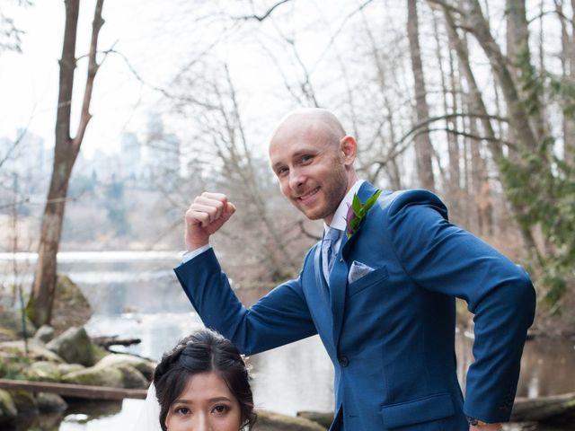 Josh and Jamia's wedding in Burnaby, British Columbia 45