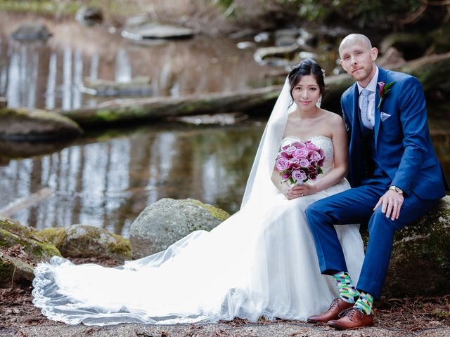 Josh and Jamia's wedding in Burnaby, British Columbia 1