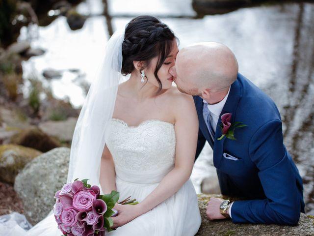 Josh and Jamia's wedding in Burnaby, British Columbia 49