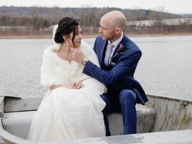 Josh and Jamia's wedding in Burnaby, British Columbia 70