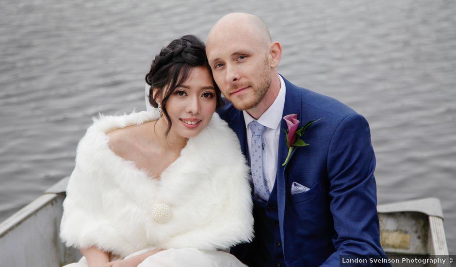 Josh and Jamia's wedding in Burnaby, British Columbia